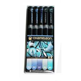 Chameleon Pen Set Blue