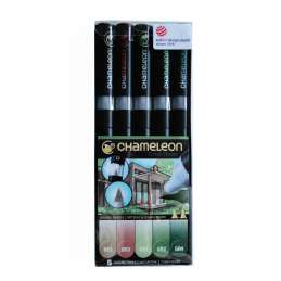 Chameleon Pen Set Nature