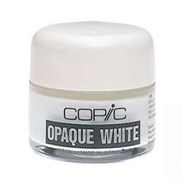 Inchiostro bianco Opac White Copic